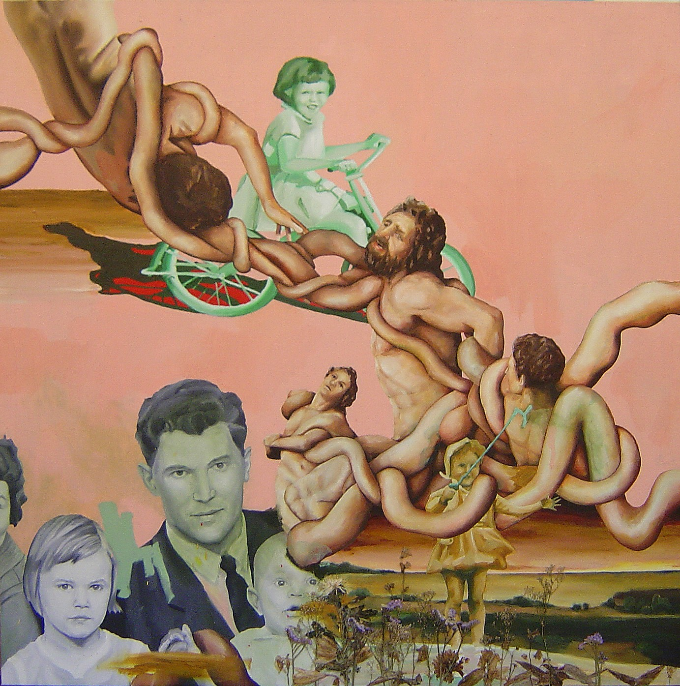 Speaking Through History Painting By Erik Modig